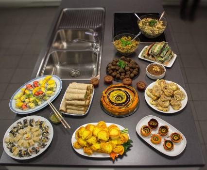 Cateringtisch in Nürnberg